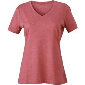 c1ef6f127f Taboo Hungary - James & Nicholson Piros színű női V-nyakú póló
