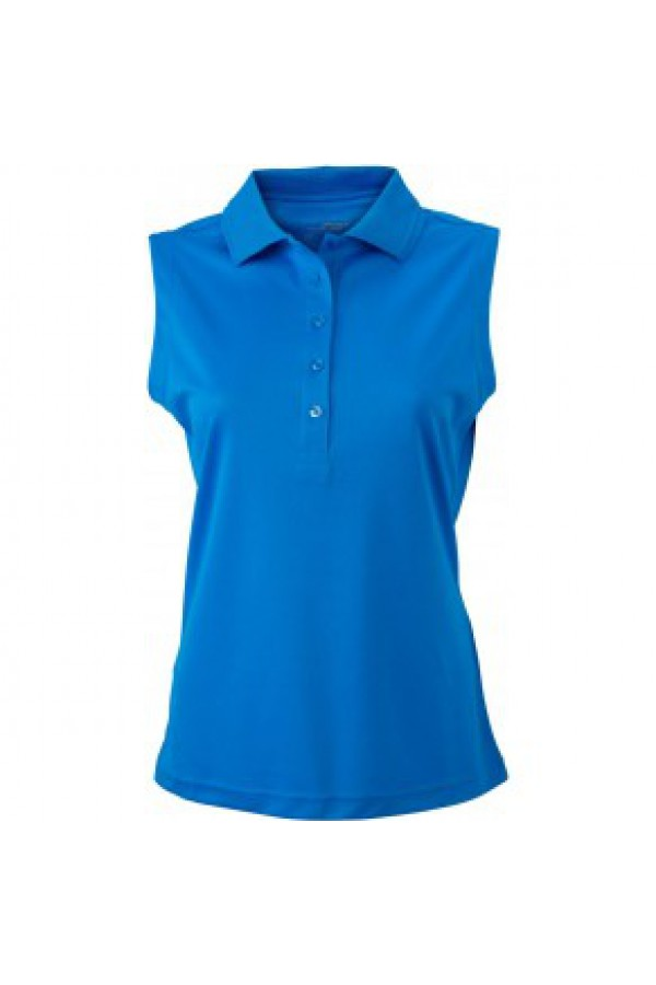 James & Nicholson kék színű női ujjatlan póló