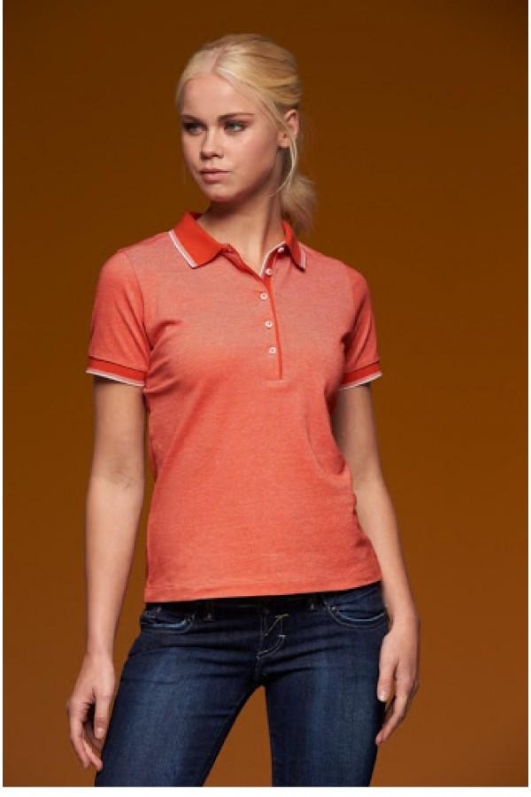 J&N Ladies' Polo női galléros póló