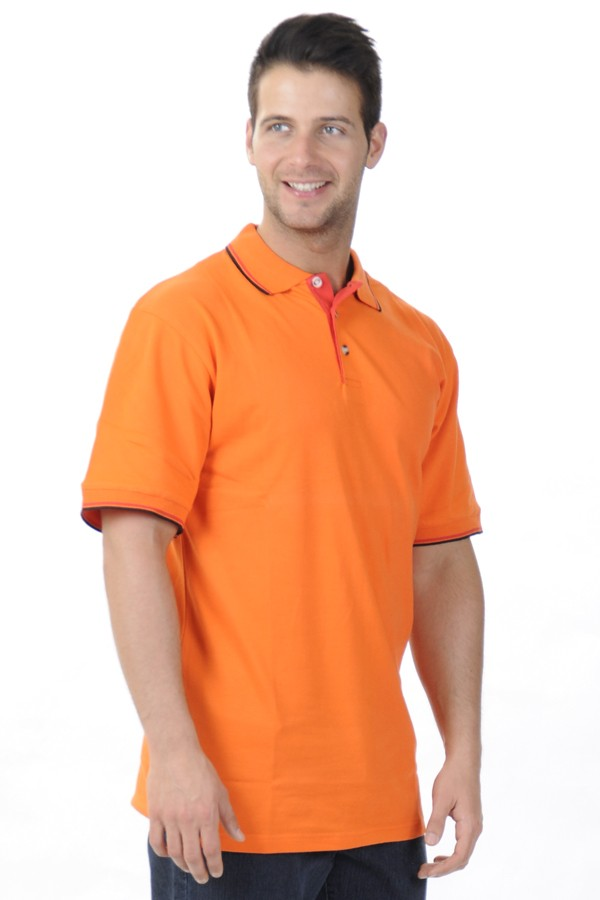 Narancs Piké Póló