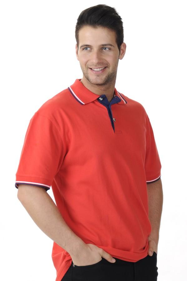 Piros Piké Póló