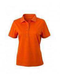 James & Nicholson narancssárga női galléros póló