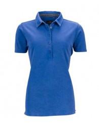 James & Nicholson királykék női galléros póló