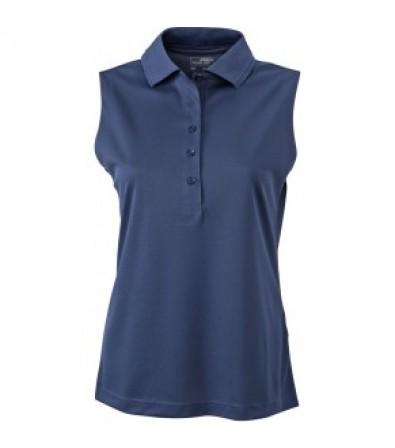 James & Nicholson sötétkék színű női ujjatlan póló