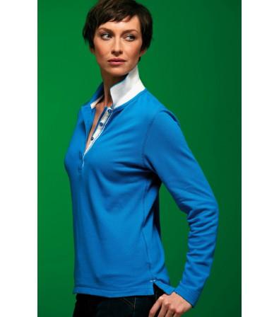 J&N Lifestyle hosszú ujjú női galléros póló