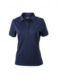 James & Nicholson sötétkék színű női galléros póló