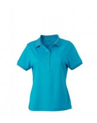 James & Nicholson türkiz színű női galléros póló