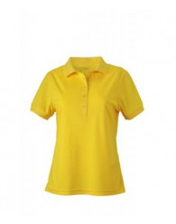 James & Nicholson sárga női galléros póló