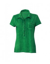 James & Nicholson női zöld színű galléros póló