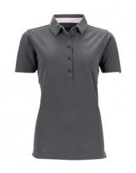 James & Nicholson szürke női galléros póló