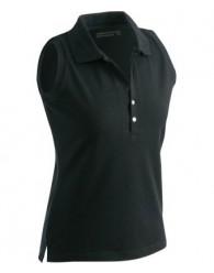 James & Nicholson női fekete ujjatlan póló