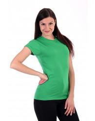 Női Póló rövid ujjú póló zöld