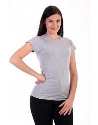 Női Póló rövid ujjú póló szürke