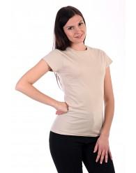 Női Póló rövid ujjú póló natúr