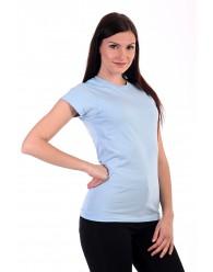 Női Póló rövid ujjú póló világoskék