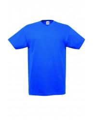 Fruit of the Loom V-nyakú kék férfi póló