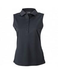 James & Nicholson fekete színű női ujjatlan póló