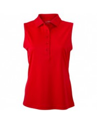 James & Nicholson piros színű női ujjatlan póló