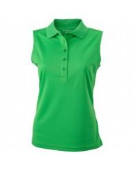 James & Nicholson zöld színű női ujjatlan póló