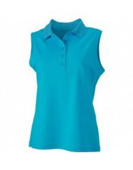 James & Nicholson türkiz színű női ujjatlan póló