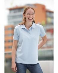 J&N Workwear női galléros póló