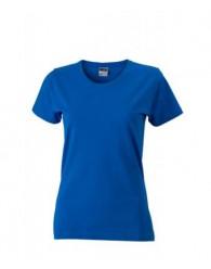 James & Nicholson királykék Női Slim Fit póló