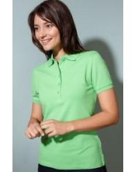 J&N Elastic Polo női galléros póló