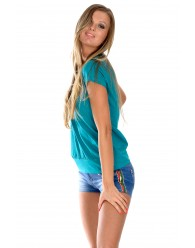 Női póló, rövid ujjú