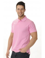 Galléros Póló - Rózsaszín