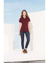 Több színben Női pöttyös Galléros Pólók