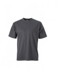 James & Nicholson grafit színű férfi póló