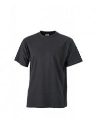 James & Nicholson fekete színű férfi póló