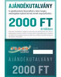 Ajándék Utalvány 2000